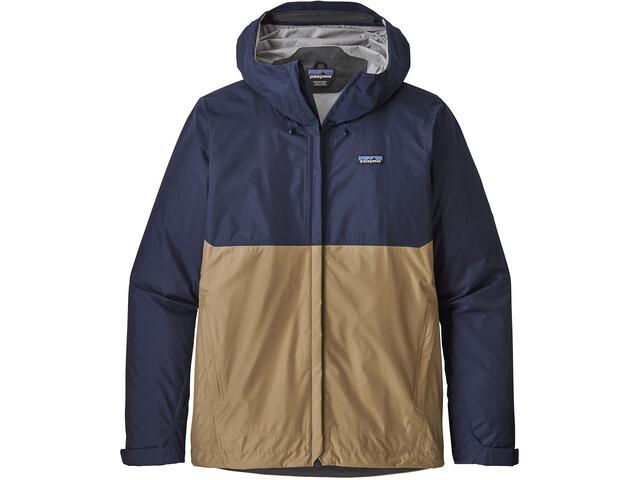 Patagonia Torrentshell Jacket Men Classic Navy W/Mojave